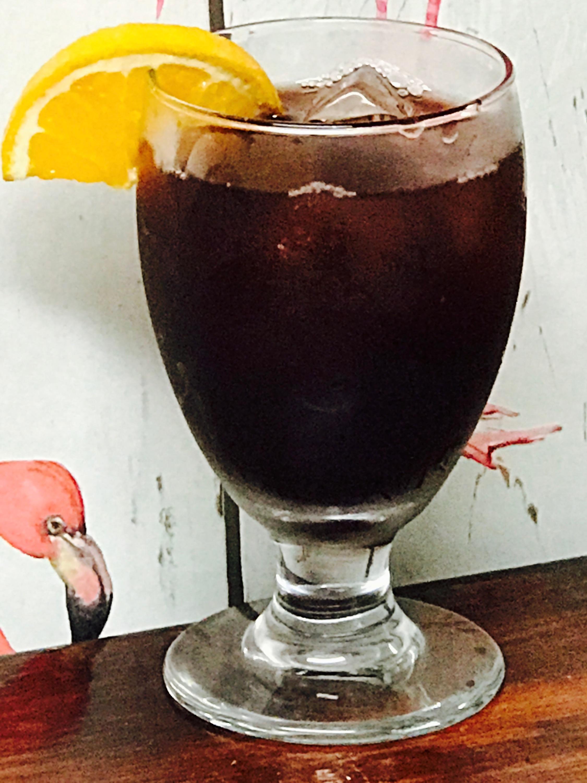 HOMEGROWN SANGRIA $7 - Wine, Booze, Juice