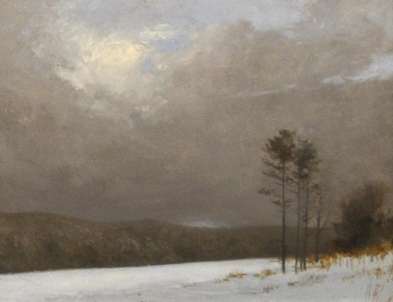 Winter Scene 7x9 oil