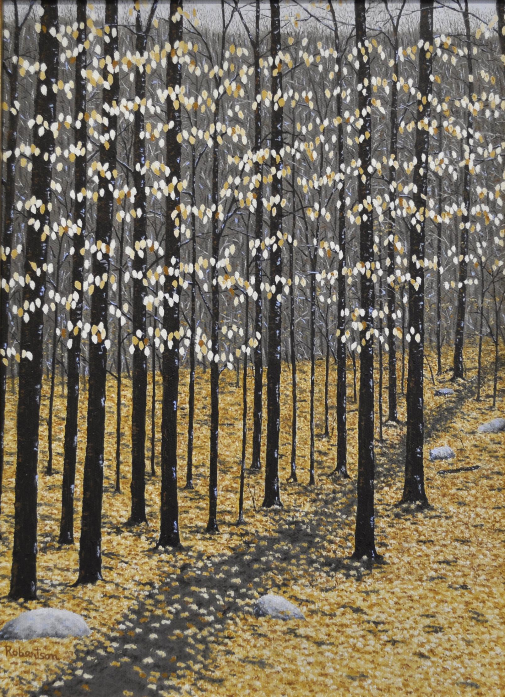 - Beech Trees Oil 16x12
