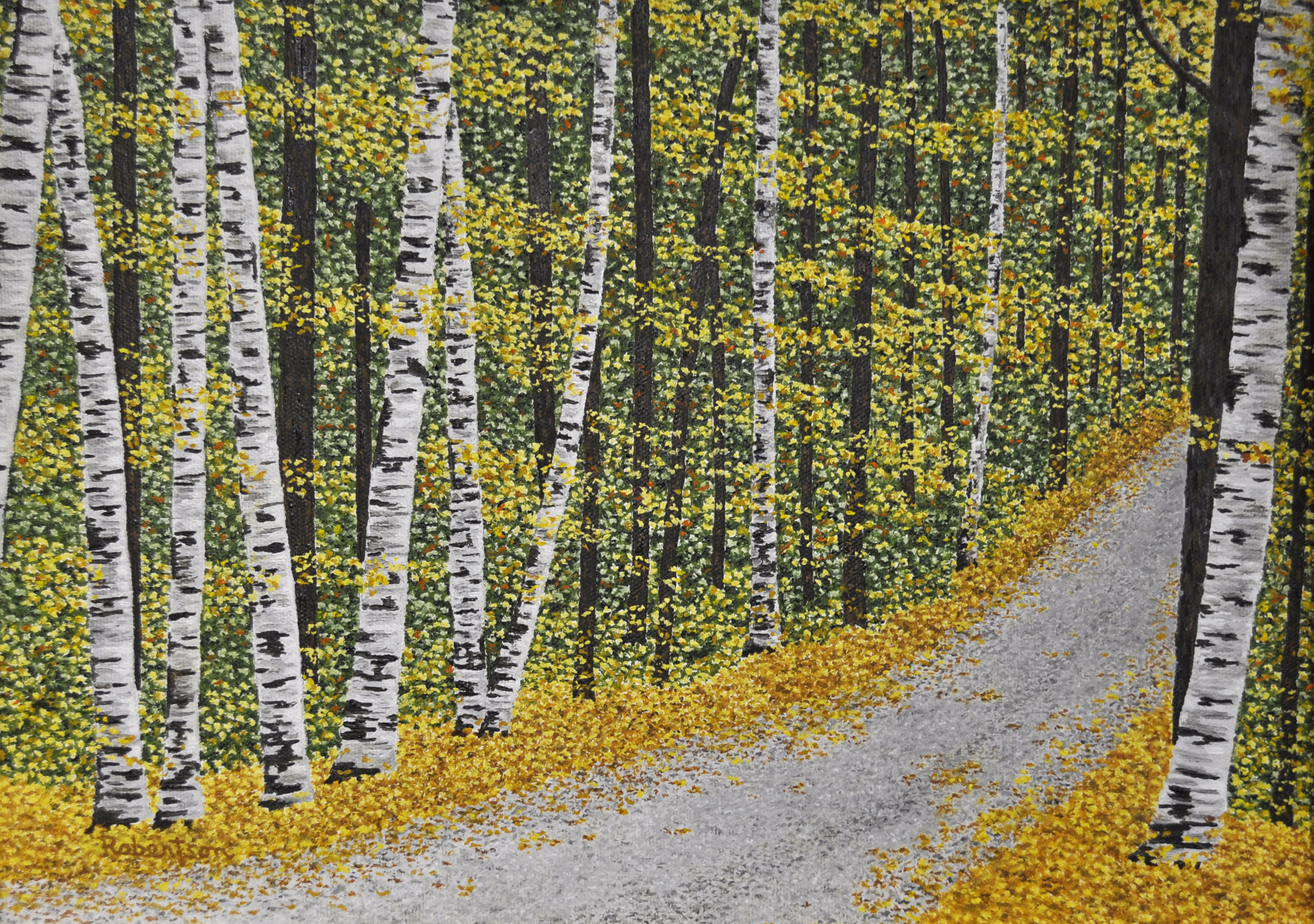 - Birches oil 12x16
