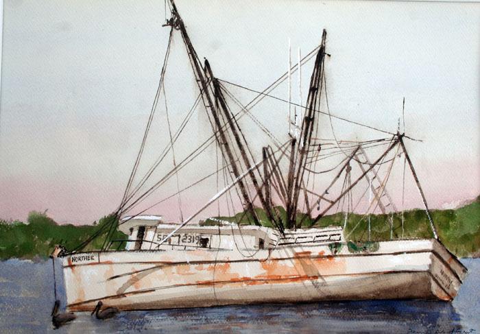 derelick 14x20 watercolor