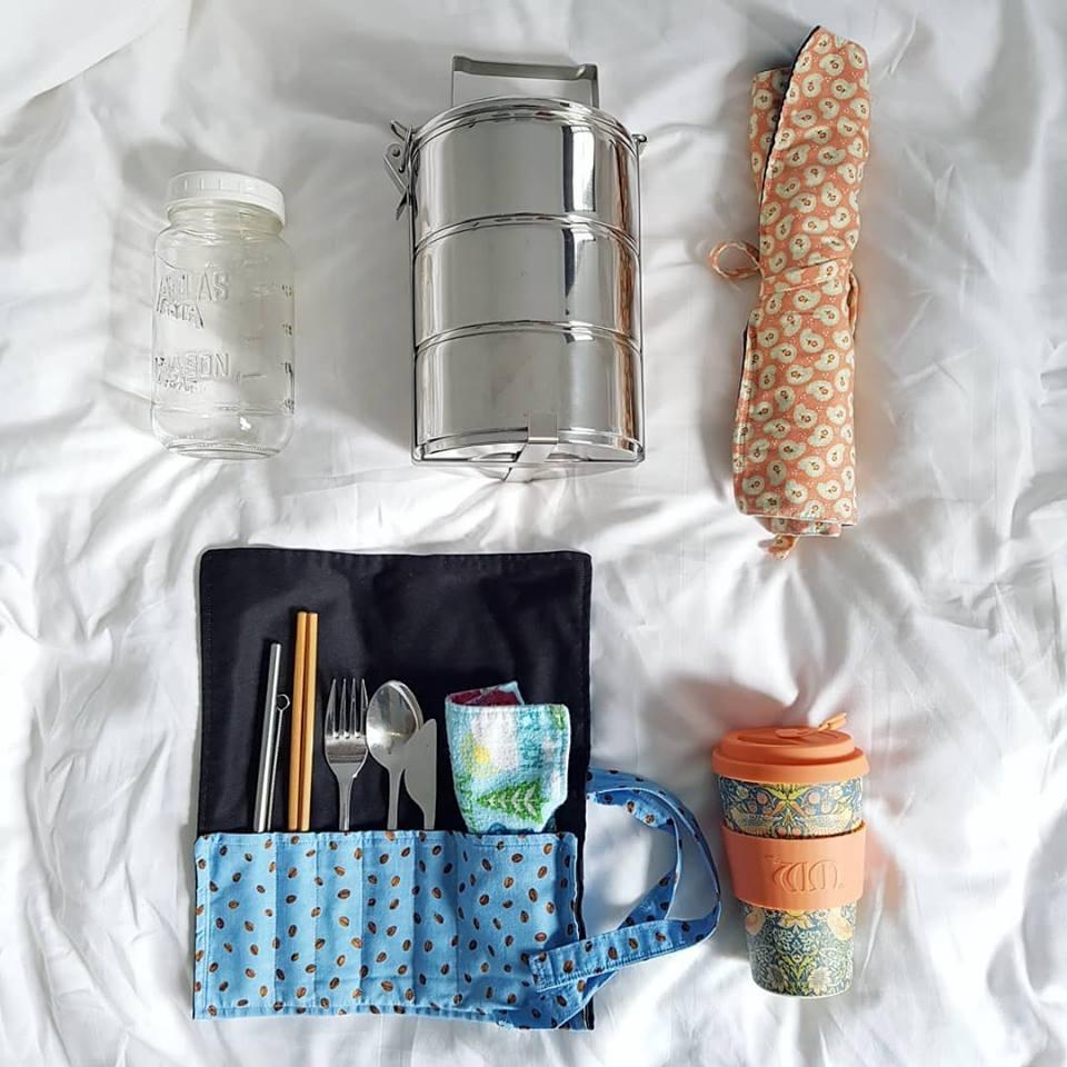 A few zero waste travel essentials from Zero Waste Bulk.