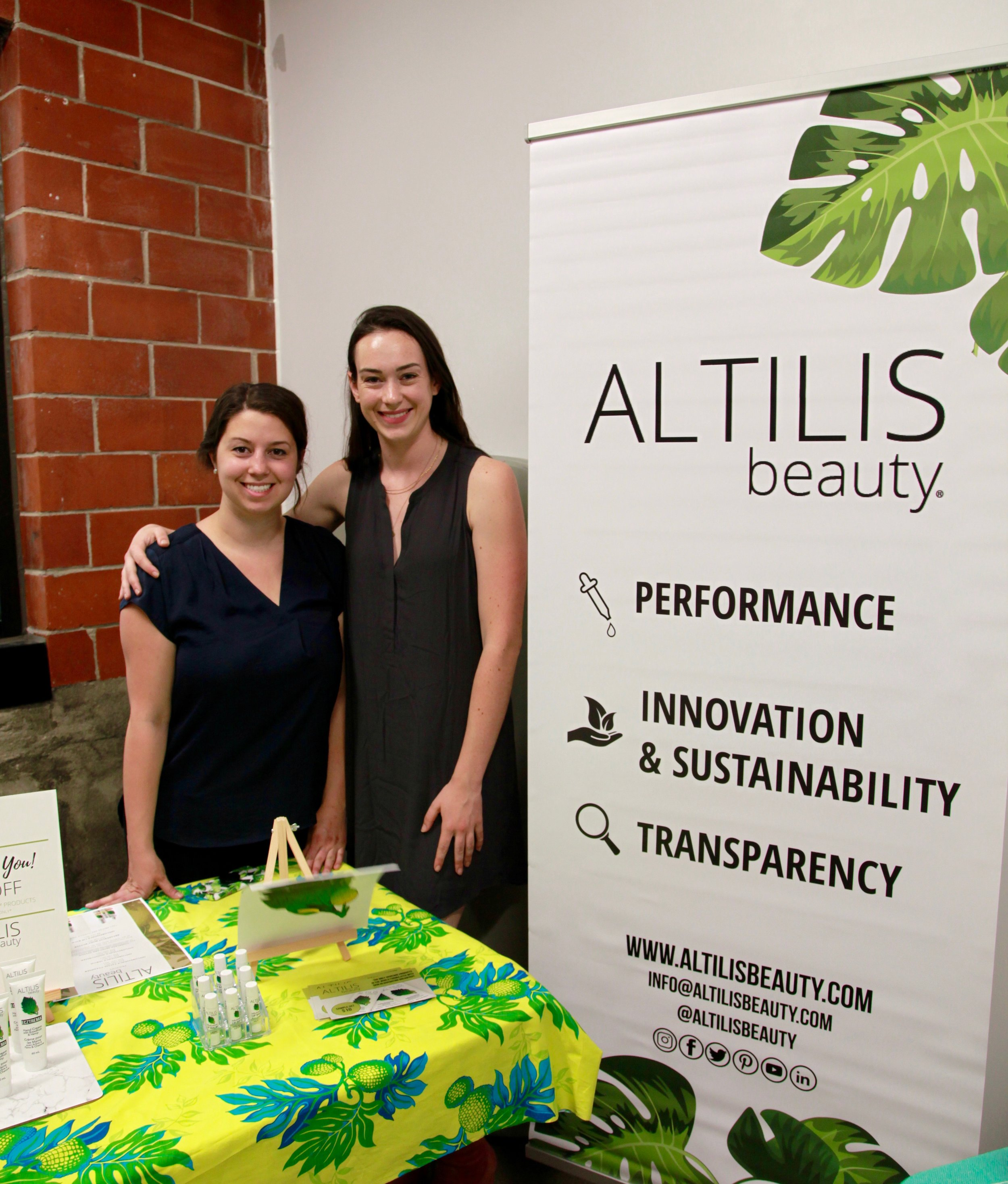 Here's a shot from our Green Beauty Night in June!