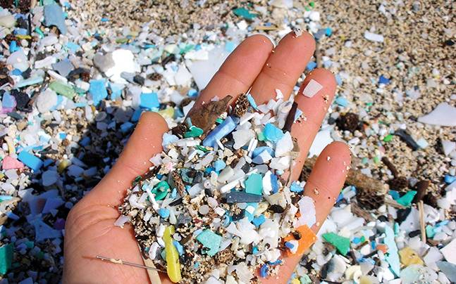 Where are all these microplastics coming from?