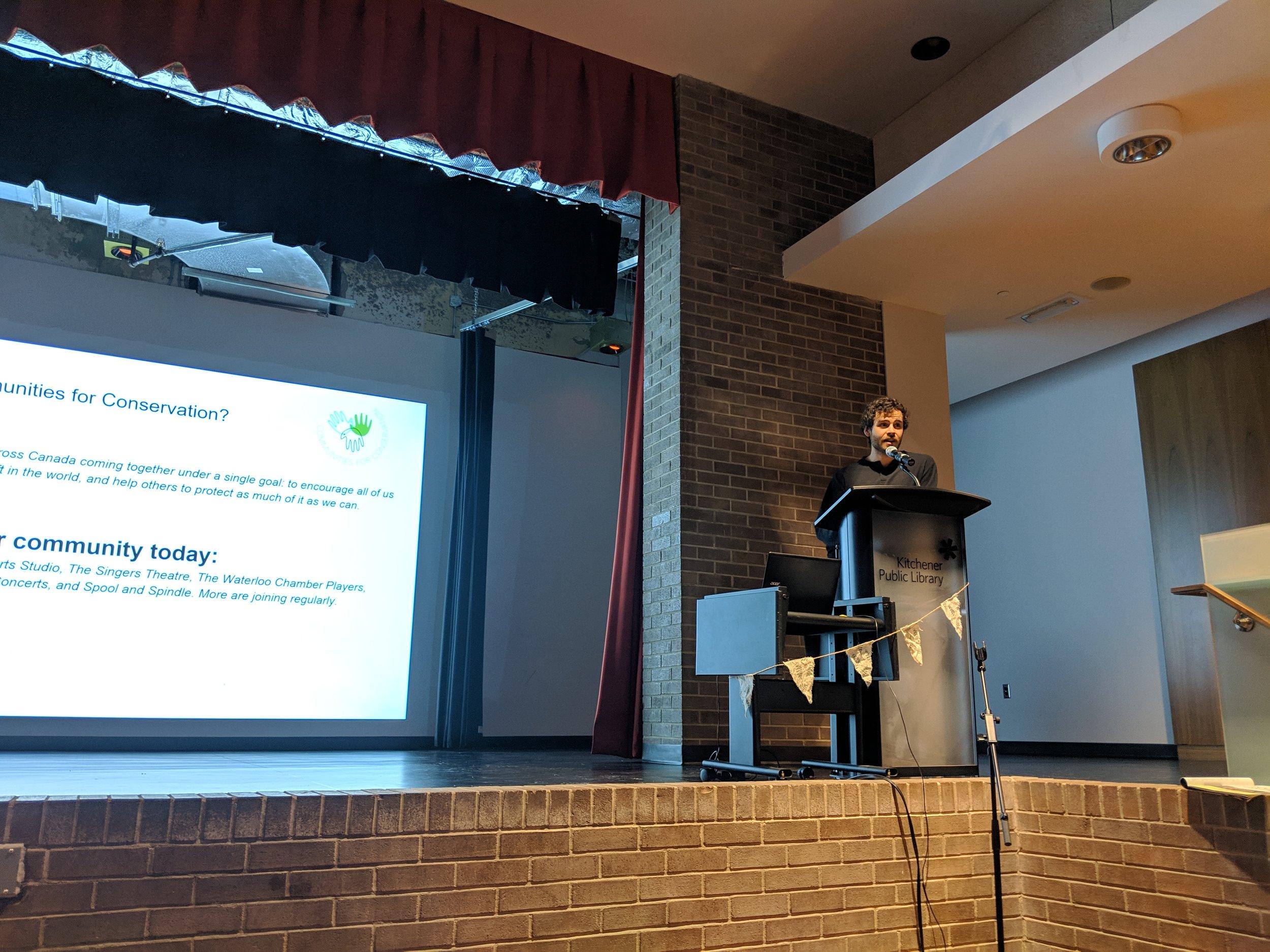 Keenan Reimer-Watts, Communities for Conservation    www.communitiesforconservation.org