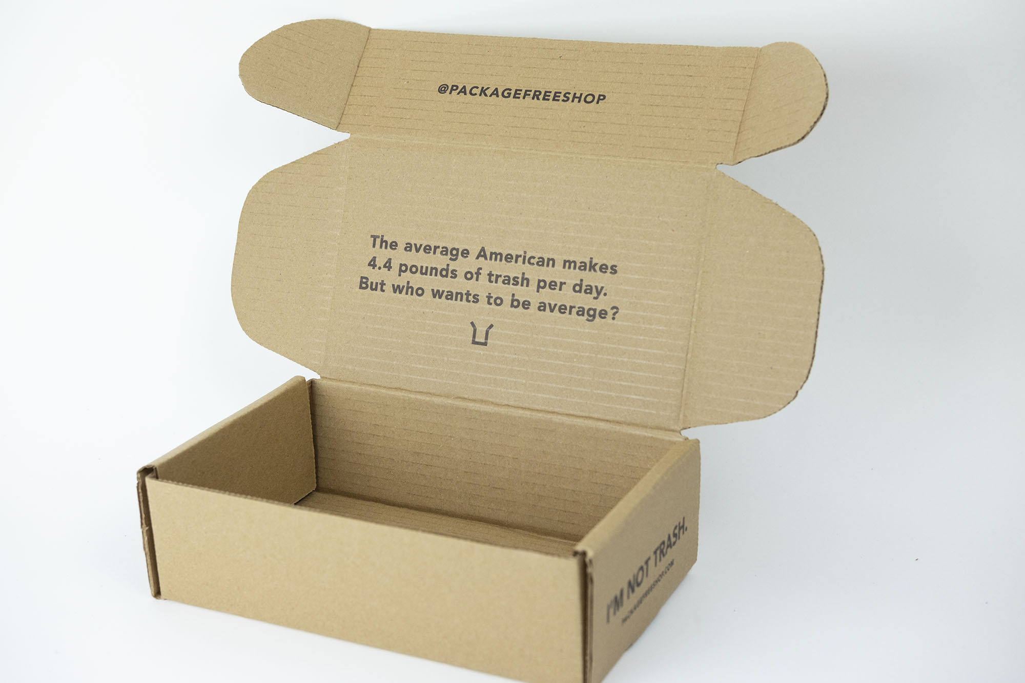 Sustainable Packaging Design for  Package Free Shop