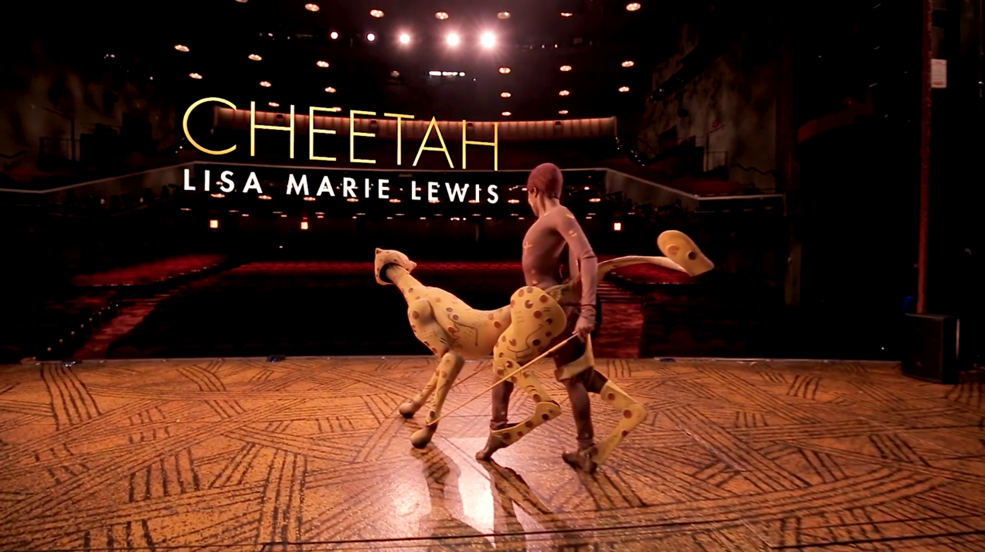 """Cheetah from """"Circle of Life"""""""