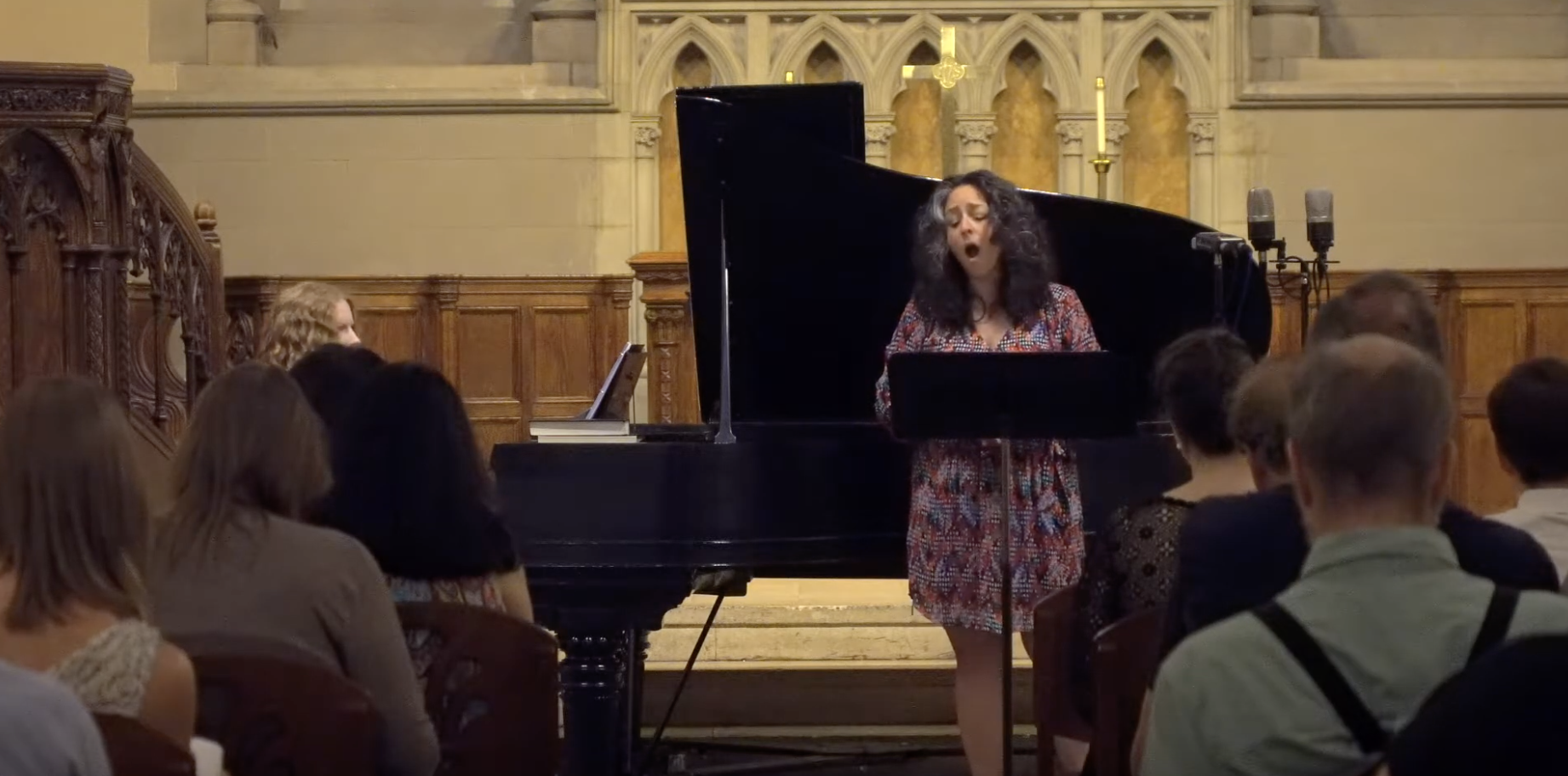 Deus ex Musica concert exploring the Psalms, Old South Church - Boston, 2019