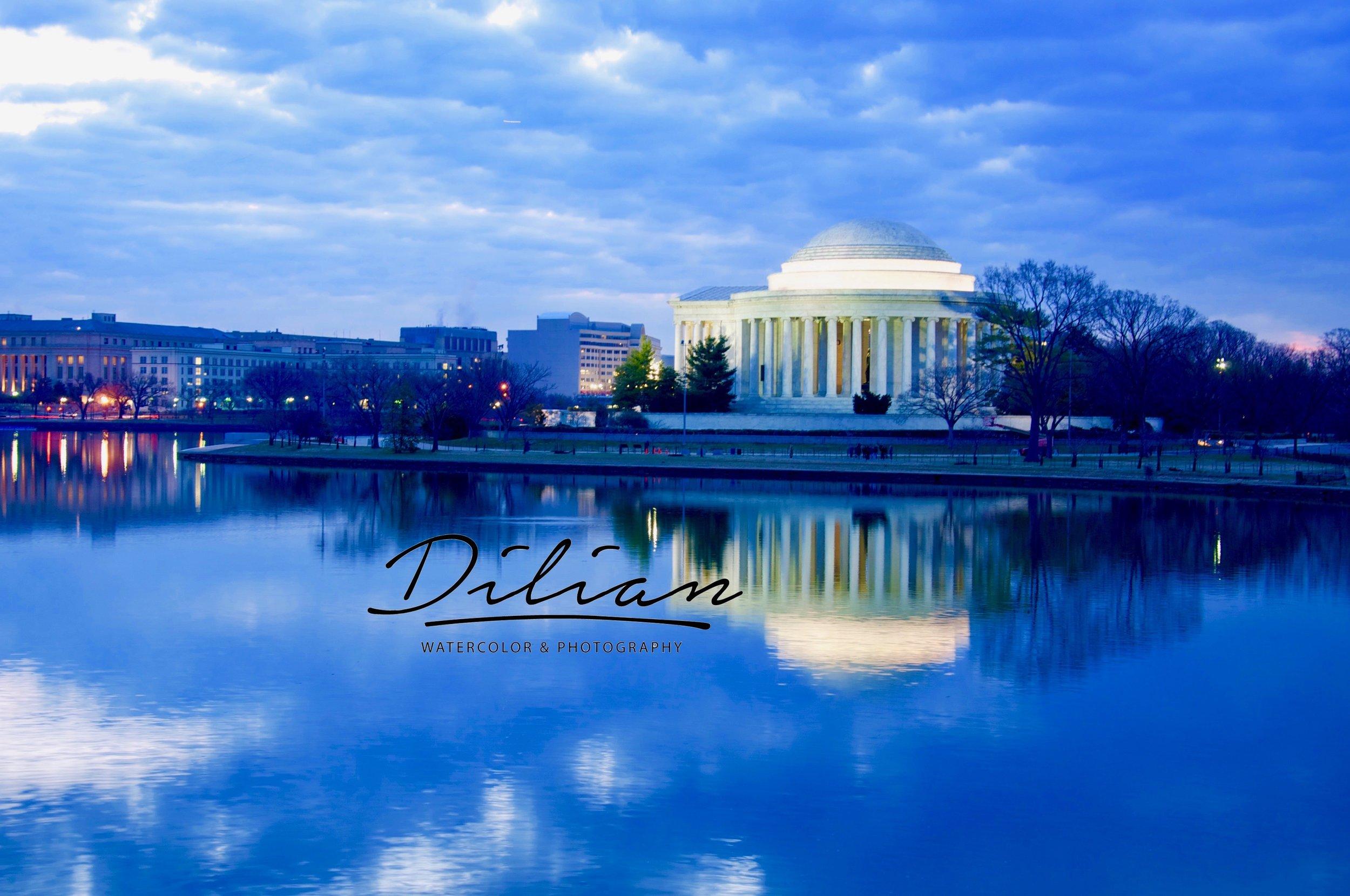 Tidal Basin-Jefferson Memorial