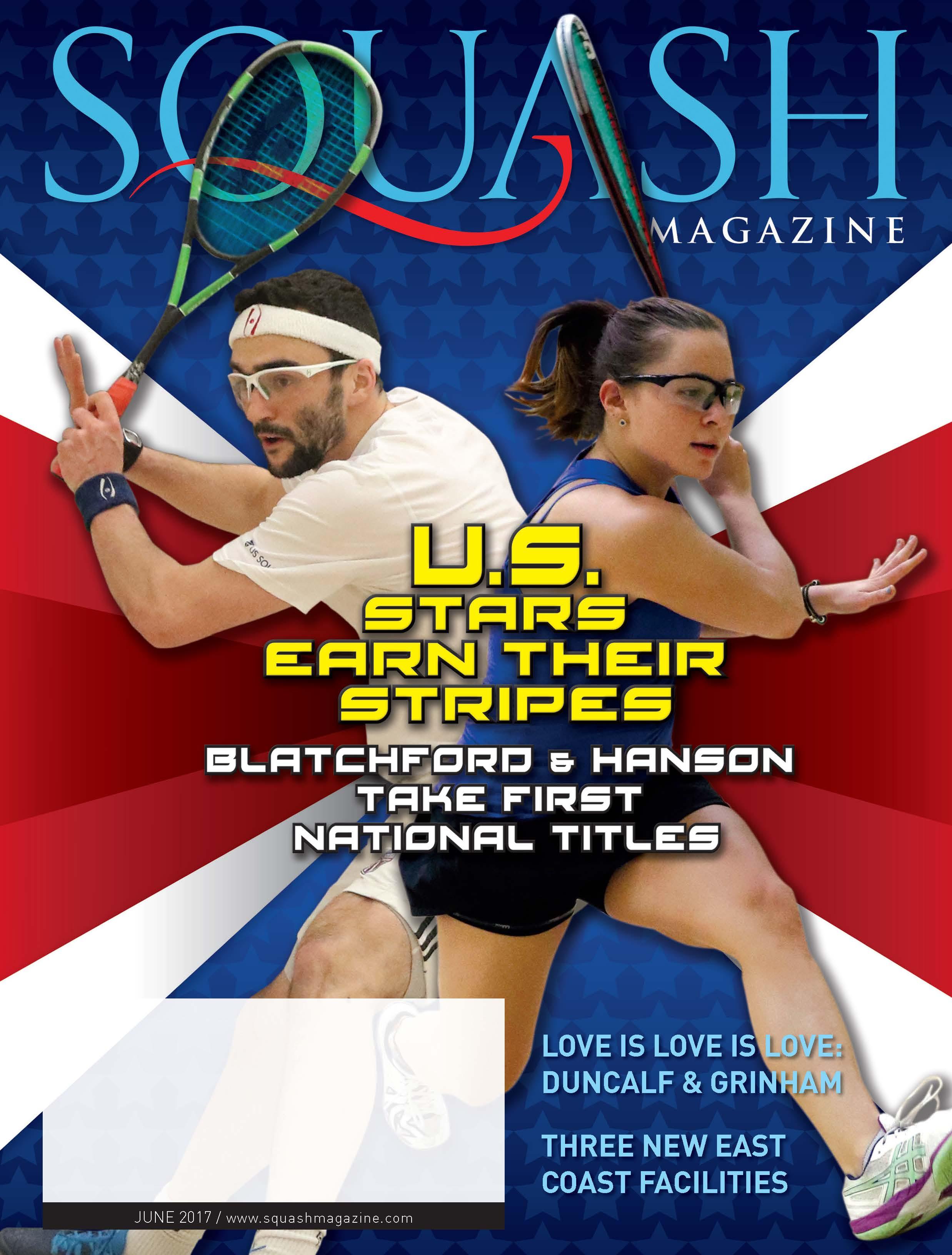 SQUASH Magazine Cover