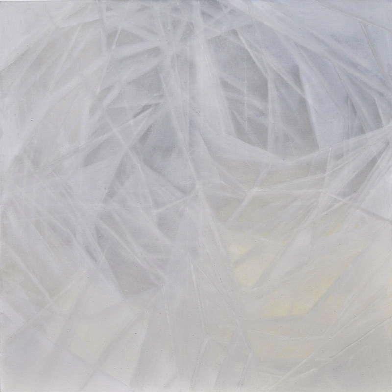Isabel Gomez Gallardo.  Studio 54-018 , Oil on Canvas, 48 x 48 in. $2,800.00