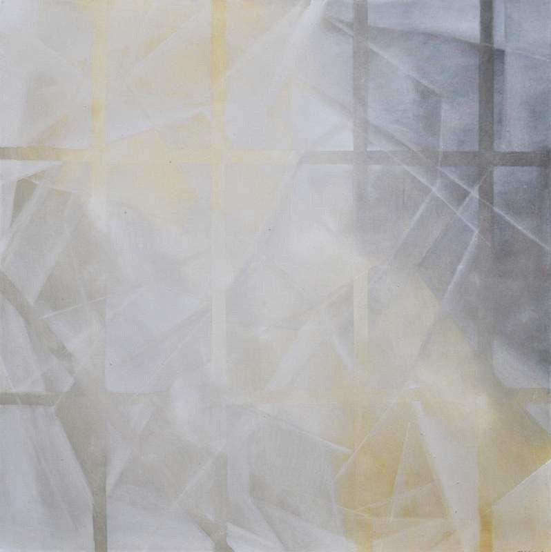 By Isabel Gomez Gallardo.  Estudio 54-017,  Oil On Canvas.48 x 48 in.  $2,800.00