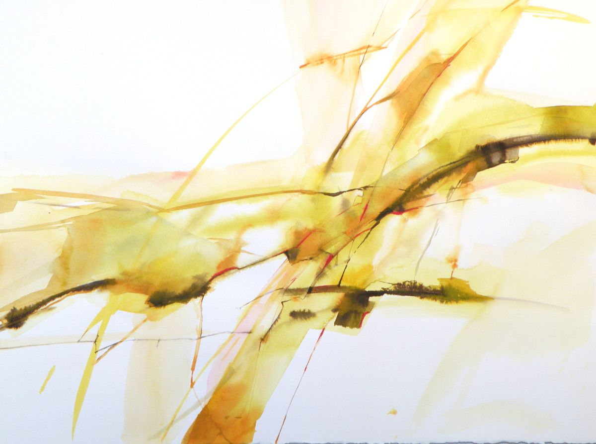 Valentina Atkinson.  TEO1 , Watercolor and Ink, 22 x 30 in.