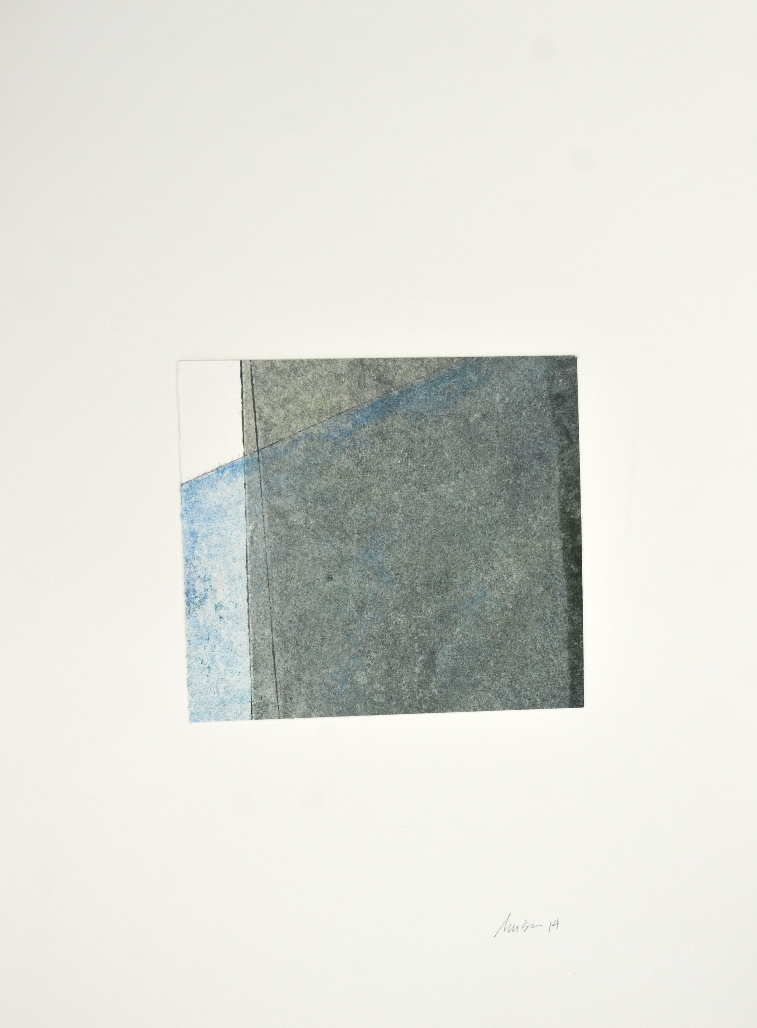 Luisa Duarte. Monotype Collage on Paper. 2014.