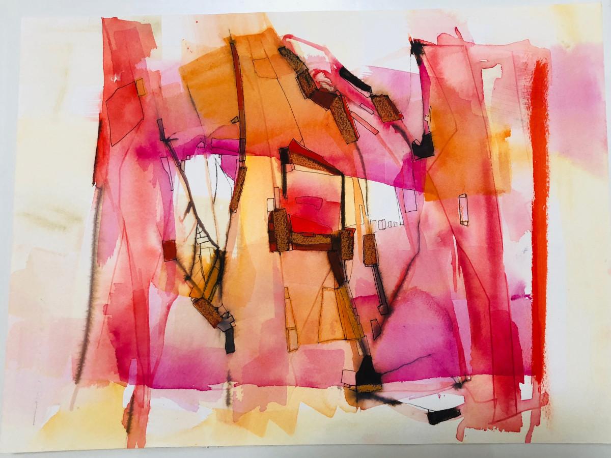 Valentina Atkinson, Watercolor and Ink.