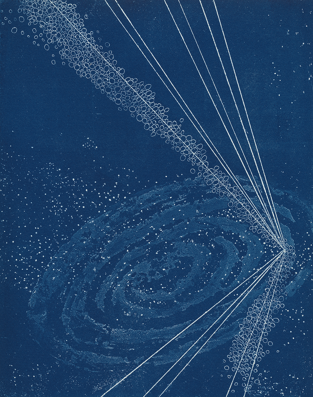 Shanti Conlan, Solstice, Etching & Aquatint, Relief Printed, 10 x 8 in.
