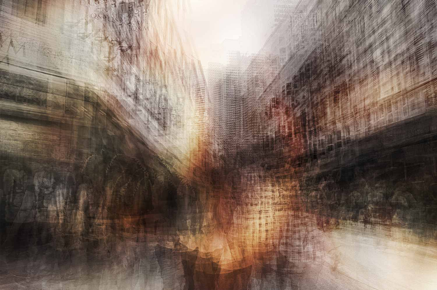 Alfonso Bonilla,  Liang Street,  Chromaluxe Photograph. 18 x 24 in.