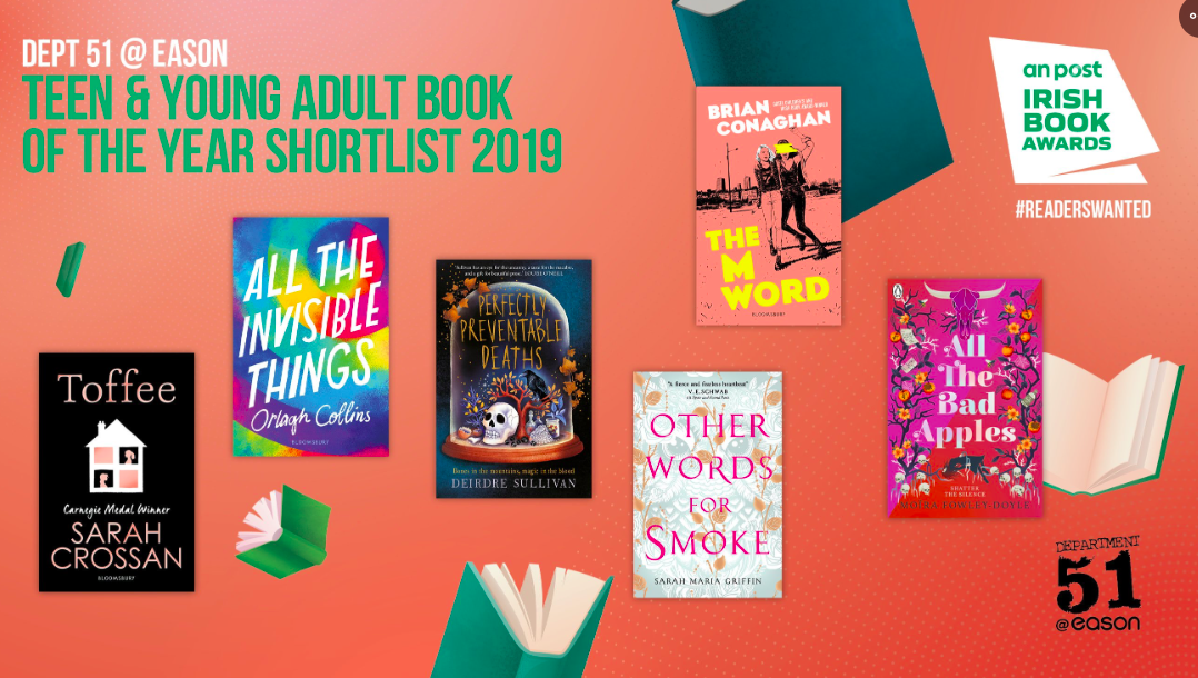 All The Invisible Things is shortlisted for an Irish Book Award