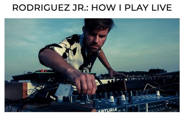 Ever wondered how @RodriguezJrmusic plays live? The progressive tech master explains his live setup to @DJMagofficial...  Read it here: https://bit.ly/2lX2YKh  Rodriguez Jr's new double A-side 'Phoenix / Amargosa' (@anjunadeep) is out now. Buy it here: https://bit.ly/2KAKYiI