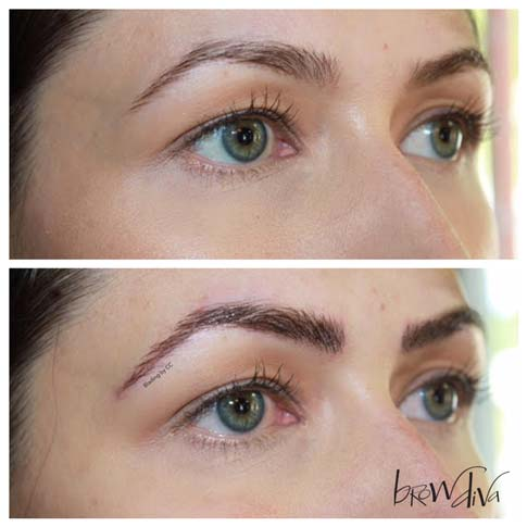Microblading before and after 3-2