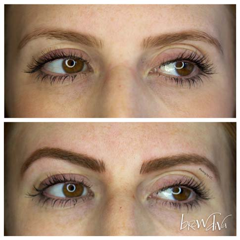 Microblading before and after 5