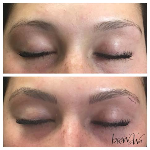 Microblading before and after 6