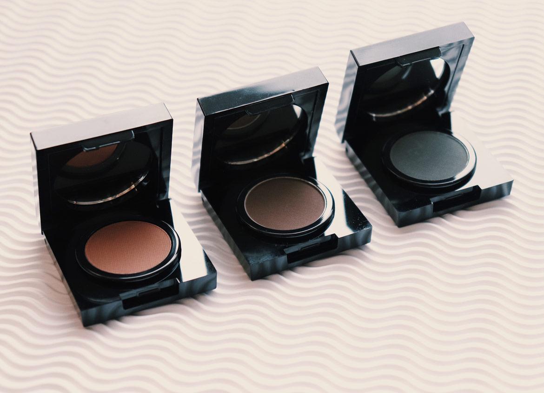 Brow Diva Makeup three Brow Powder shades