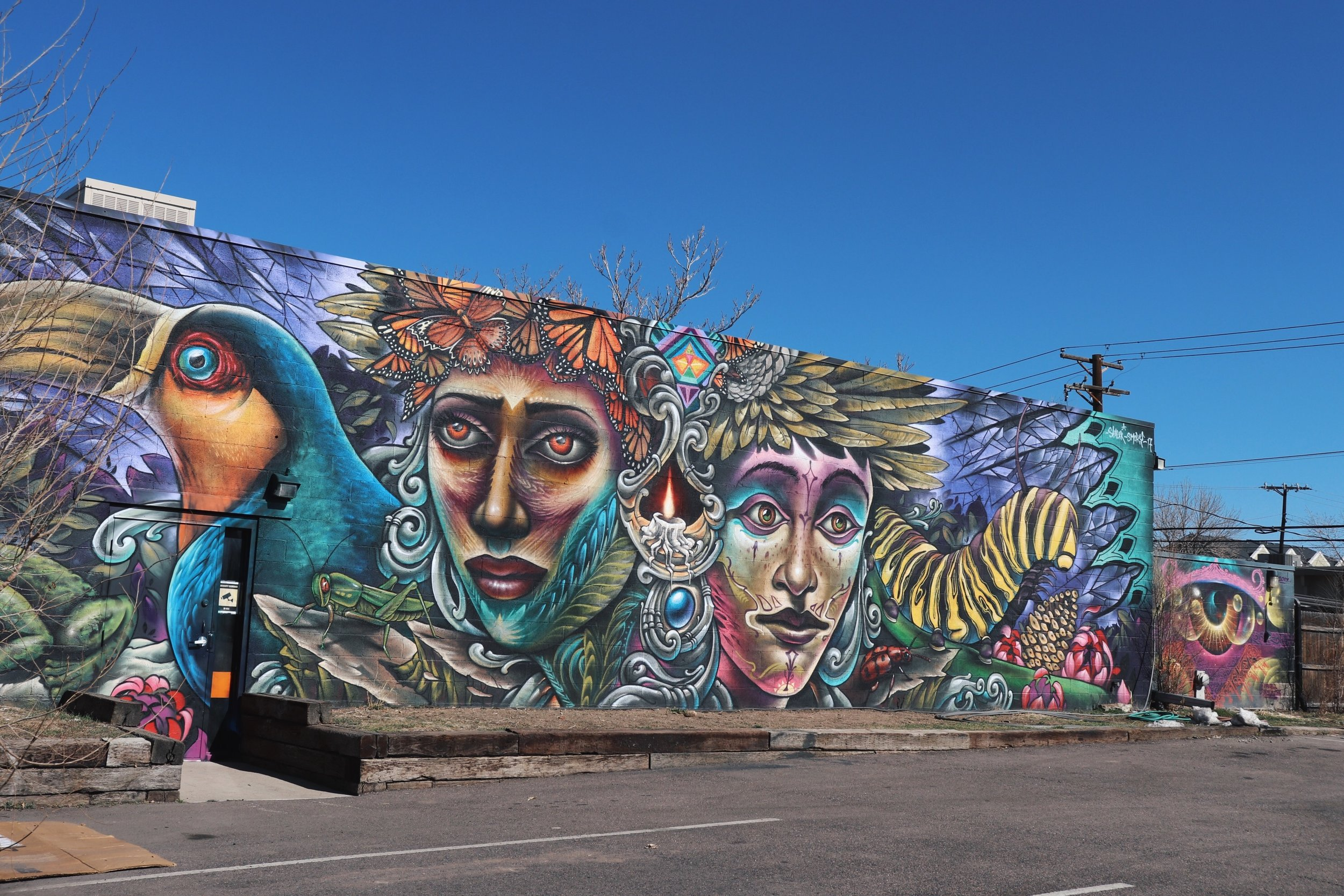 Wall Art at Five Points
