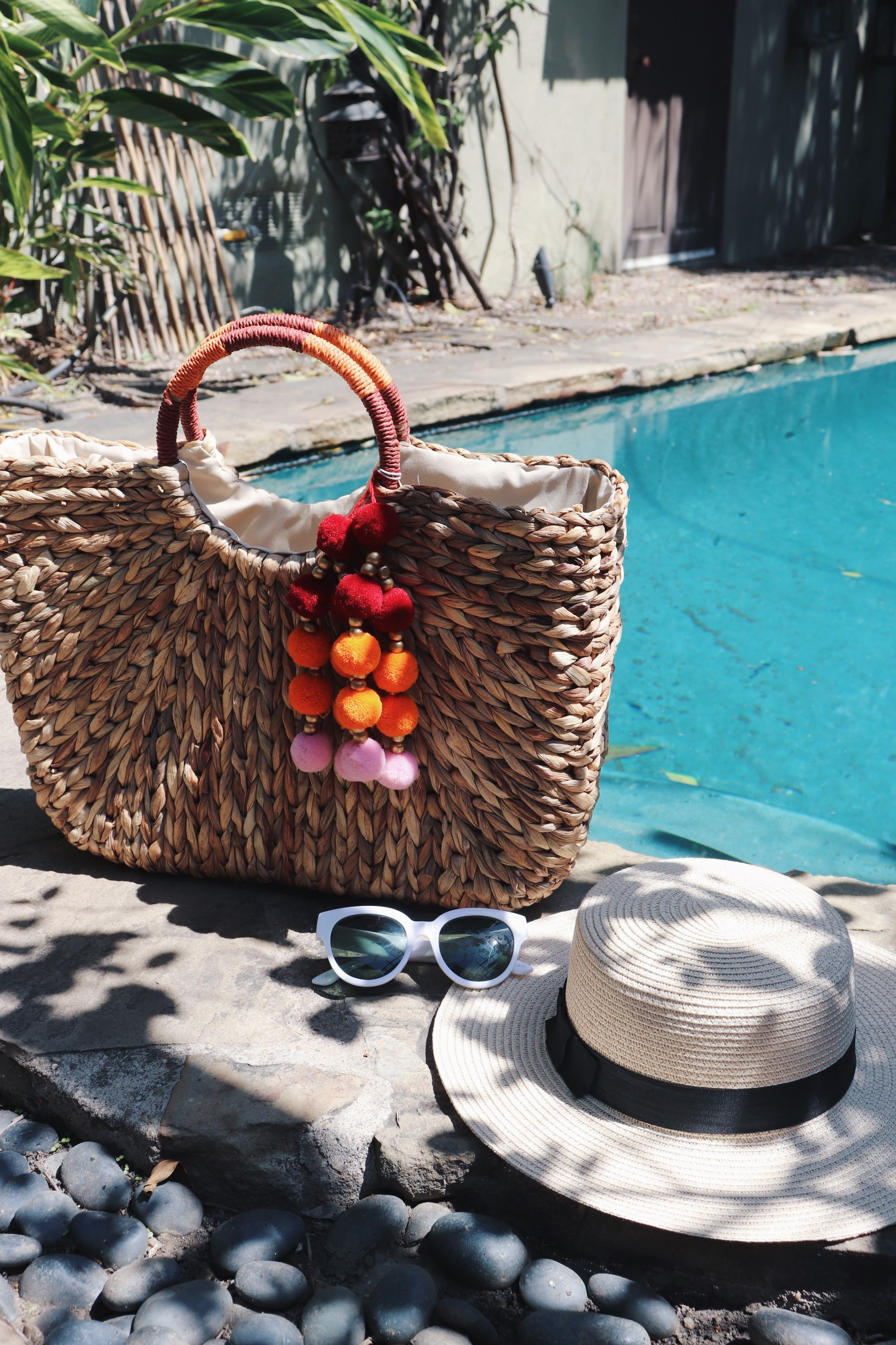 Straw Accessories and Cool Shades - These natural fibers are made to be worn with favorite warm weather textures like cotton and linen, along with the relaxed ease it brings to a dressed-up look. Plus, these straw gems will lasts you a thousand Summers. Cool shades are a must for Summer and might I suggest a bright colored pair? Green, red, or yellow is just perfect for an electric Summer!Catch me rocking these:-Why You So Perfect-Picnic Cutie-Summer Formation-Fly With Me-Ladyluck