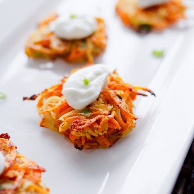 Sweet Potato & Parsnip Latkes
