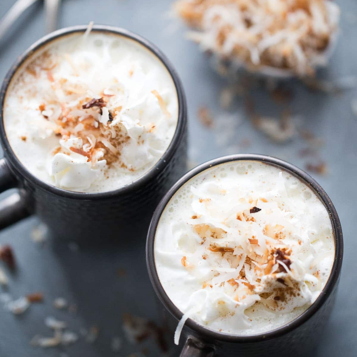 Coconut White Hot Chocolate