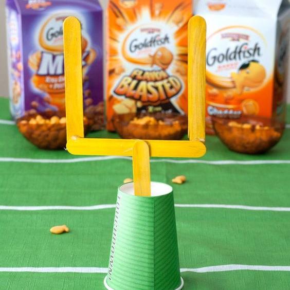 Easy DIY Craft Stick Field Goals