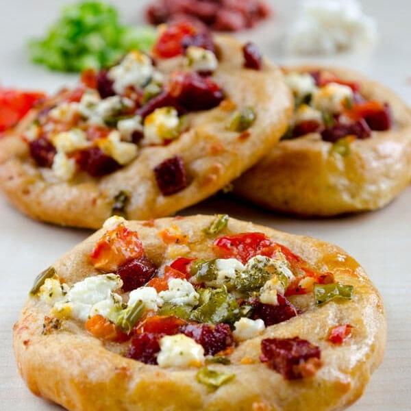 Mini Breakfast Pizzas