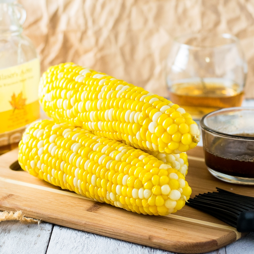 Maple Bourbon Corn on the Cob