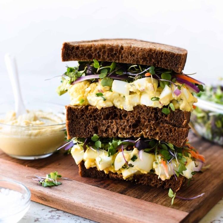 Hummus & Tahini Egg Salad