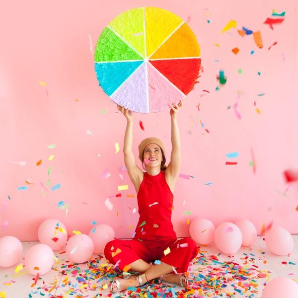 Color Wheel Piñata