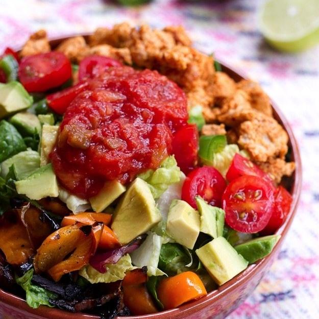 Clean-Eating Turkey Taco Salad