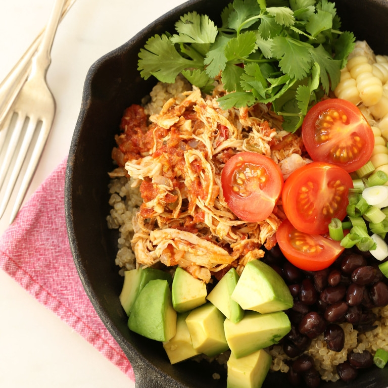Mexican-Style Shredded Chicken