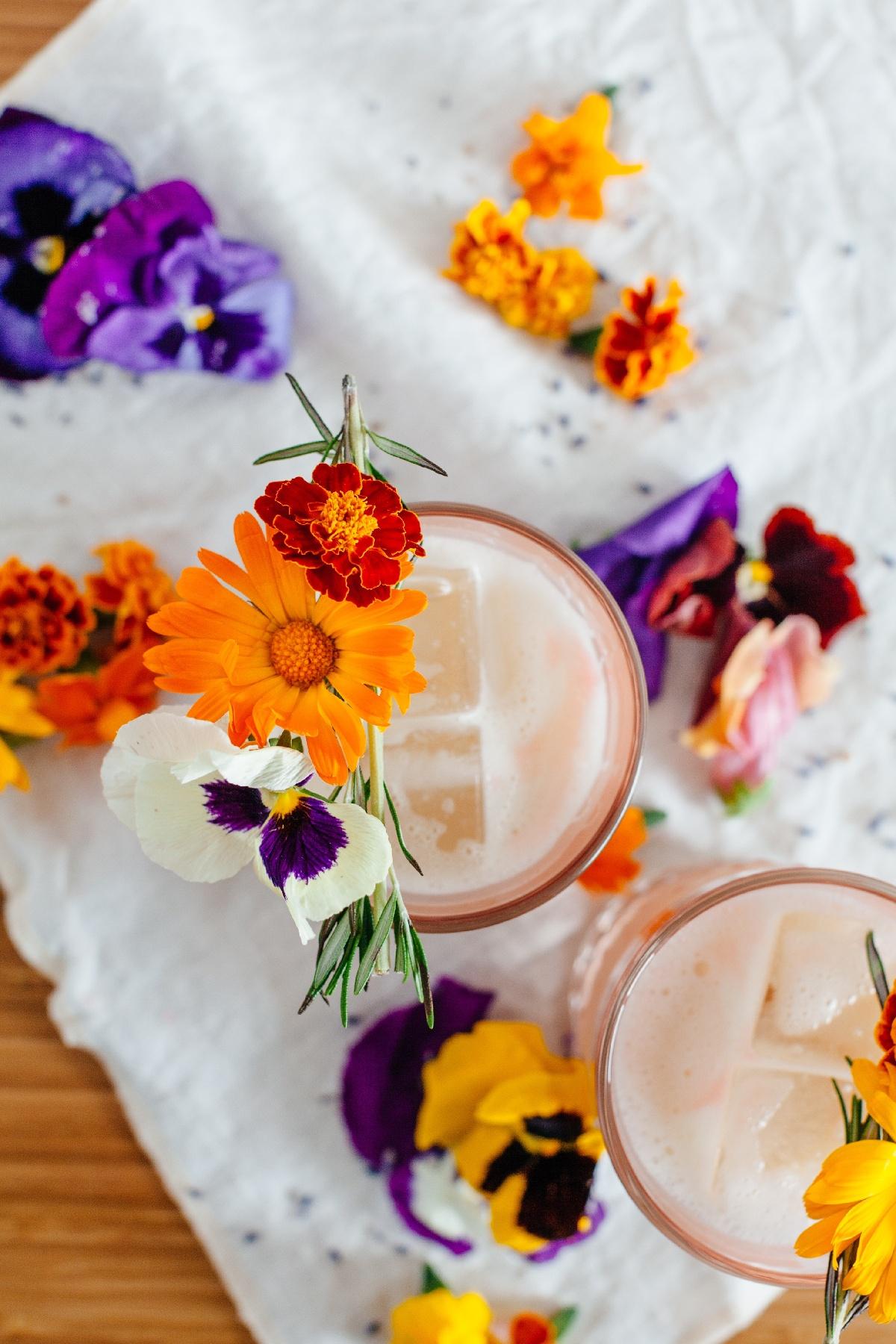 Lavender Milk Punch
