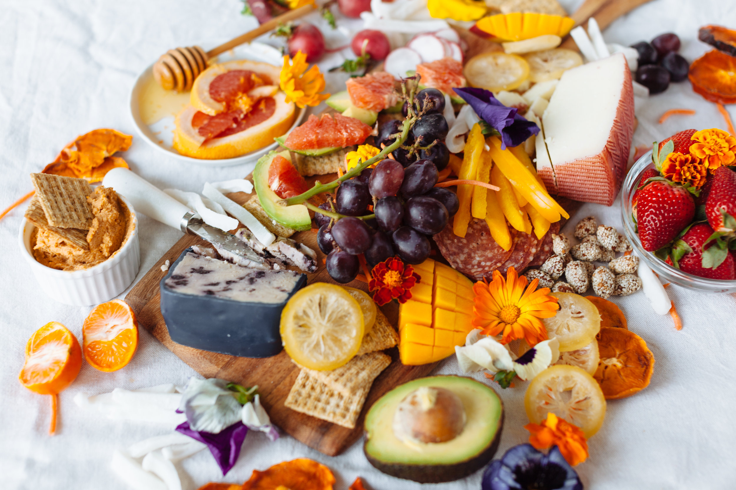 "Aspirational - By Gabriella's photography is like eye candy. For a campaign we did with TRISCUIT, she showcased her ""aspirational"" style beautifully with her Spring Charcuterie Board."