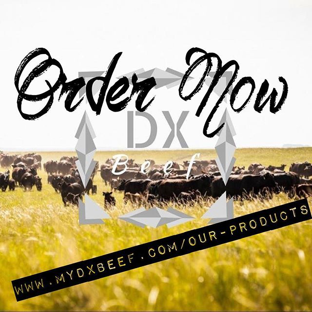 Order form is LIVE on WWW.MYDXBEEF.COM/OUR-PRODUCTS. #dxbeef #buylocal #eatlocal #beefitswhatsfordinner #beef