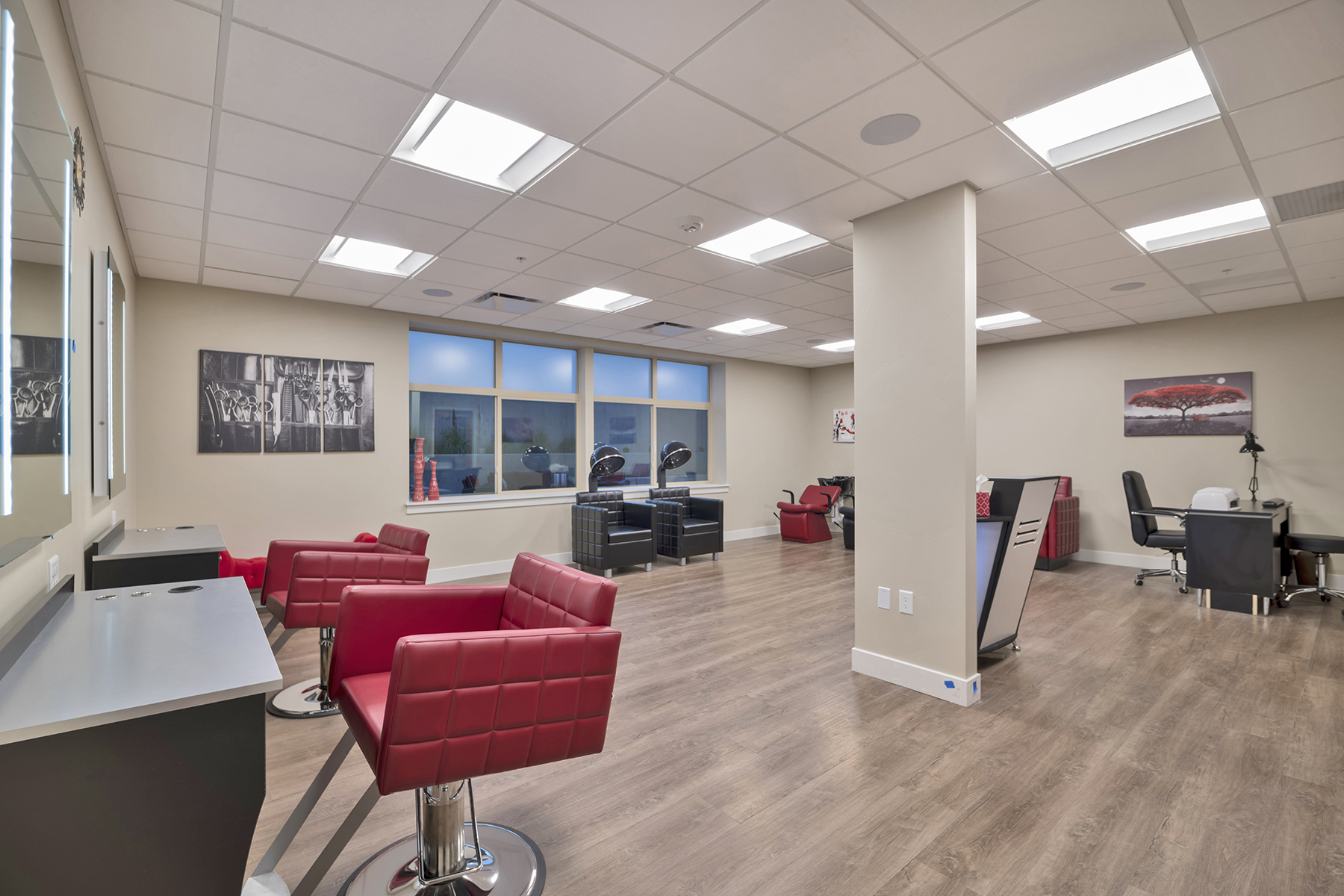 Senior Living and assisted living beauty salon in sandy Utah