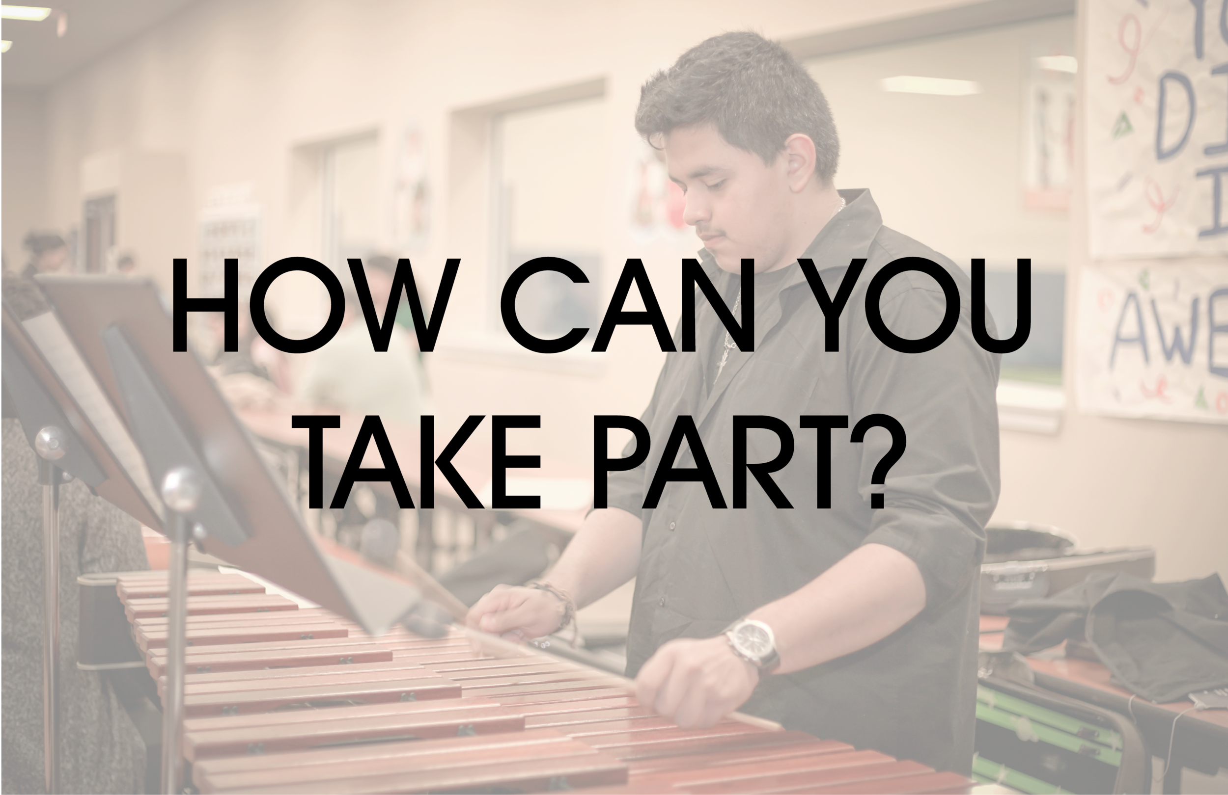 Donating an instrument is easy. Just drop it off with us, fill in a few boxes online, and provide a young person with the opportunity to study music. We will send you a tax receipt after the drive ends.
