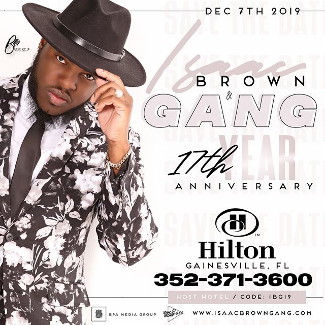 We are booking FAST!! #HOSTHotel for our 17th Year Anniversary information on Flyer!! #BookNOW #dontWait #IsaacBrownGANG
