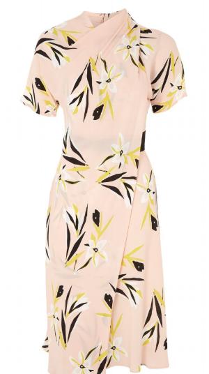 Topshop, Floral Origami Dress, $125