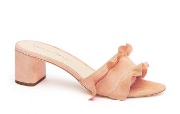 Loeffler Randall, Vera Ruffle Slide Sandal
