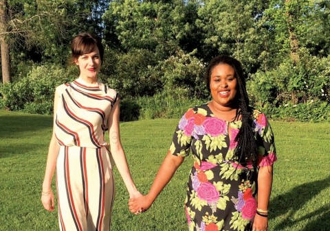 """Call Your Girlfriend- """"Long Distance Besties"""" Anne Friedman and Aminatou Sow- have me LOLing all """"shower"""" long."""