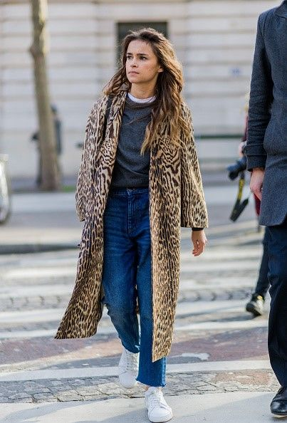 Miroslava Duma in her mom jeans and everything else that's cool.