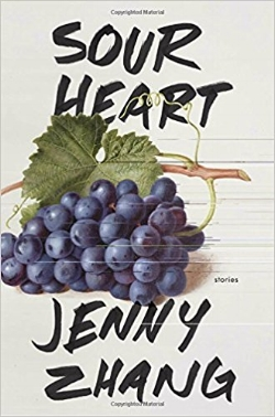 Sour Heart by Jenny Zhang, the first book published by Lenny Books