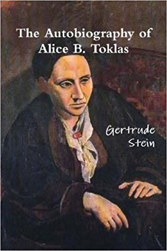 She writes this one about herself but through the lens of her partner, Alice B. Toklas